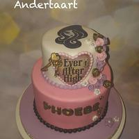 Cute little Ever after high cake