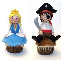 Pirate and Princess Muffins
