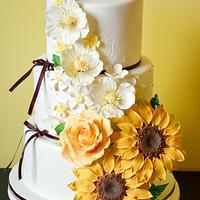 Sweet Wedding cake :)