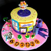 Cake for a teenage Artist
