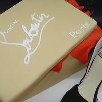 Louboutin shoe cake by That Cake Lady