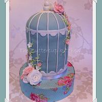 Bird cage by The Buttercup Kitchen