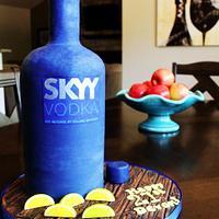 SKYY Vodka Bottle 21st Birthday