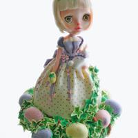 Blythe cake for easter