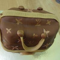Louis Vittoun Purse Cake