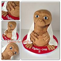 3d ET with light up finger  by June milne
