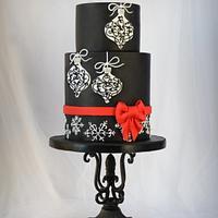 Elegant Christmas Cake
