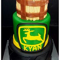 John Deere Boys Birthday Cake