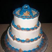 Cookie Monster First Birthday