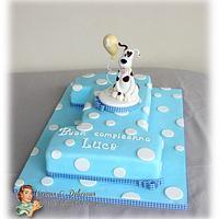 Luca's 1st cake