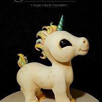 Baby Unicorn Cake Topper