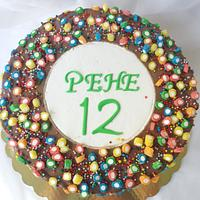 Chocolate funny cake