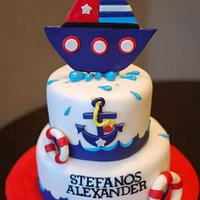 Nautical Themed Birthday