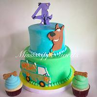 Scooby Doo Mystery Cake