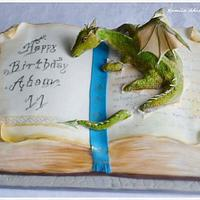 dragon#cake#book#fontann#saracino