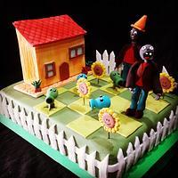 Cake PlantasvsZombies
