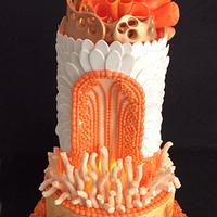 Alex Mc Queen avant-garde cakes next generation