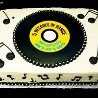 Record Cake by Jenn