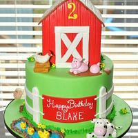 Barn Cake by Hope Crocker