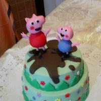 Peppa pig by las tartas de Dulcinea Zuccherona