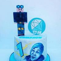 Dantdm cake