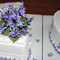 Violet 100th Birthday by Sylvania Cakes - Exeter