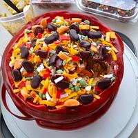 Chili Cook Off Cake by Mimi's Sweet Shoppe Amanda Burgess