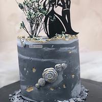 Concrete cake /Engagement cake