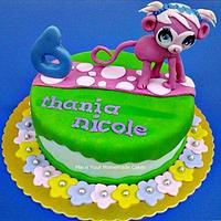 Little Pet Shop Theme Cake