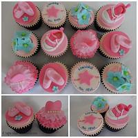 Converse and Ballet cupcakes