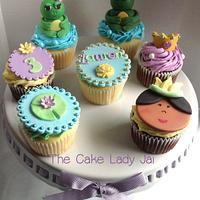 Princess Tiana Inspired Cupcakes by Jai Mobley