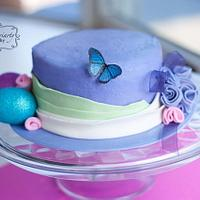Easter Hat Cake