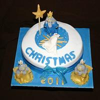 3 Kings Christmas Cake