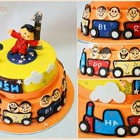 Birthday Cake for little Kush