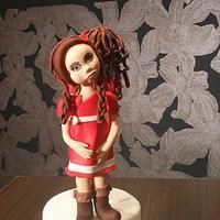 A doll from seminar
