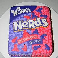 Nerds Candy cake!