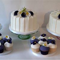 Calla Lily cakes