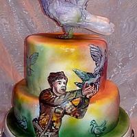 Dove Cake :)