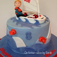 The Optimist boat cake