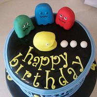 Pac Man by jens cakes