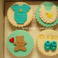 Baby Cupcake Set