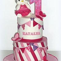 Hello Kitty first birthday