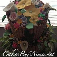 Luau  Party Cake by Emily Herrington