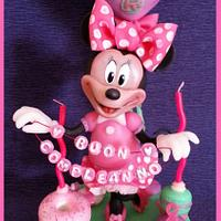 Minnie and candies on big macaron - Topper by Barbara Buceti - BB Mode To Play