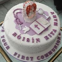First Communion and Confirmation cake for Roisin