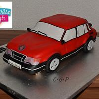 Cake Saab 900 Turbo