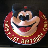 Mickey Mouse cake by Iced Images Cakes (Karen Ker)
