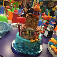 Backyardigans Cake / Tyron