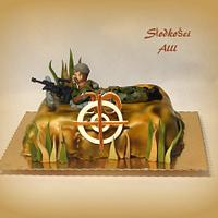 Sniper Cake