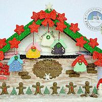 Christmas in Frostington - Gingerbread House Stall